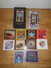 GRATEFUL DEAD THE GOLDEN ROAD 1965-1973 10 CD'S 12 DISCS CD BOX SET & BOOK VGC