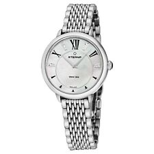 Eterna Women's Eternity MOP Dial Stainless Steel Quartz Watch 2800.41.66.1743