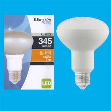 5.5W (60w) R80 Ahorro De Energía LED Reflector Foco Bombilla ES E27 Lámpara