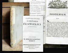 1736 Corpus Evangelicorum Posselt Systema iurium Corporis Euangelici