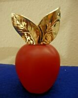 Vintage Collectible Figural Apple w/AVON Bird of Paradise Cologne, ALMOST FULL!