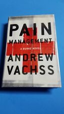 Andrew Vachss Pain Management Signed 1st edition