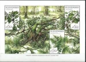 Slovakia 2016 Flora, Plants, Nature Protection MNH**