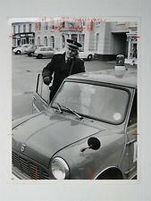 Police Officer Using Radio Phone In Police Mini At Norfolk - 1970s Press Photo