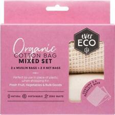 Ever Eco Reusable Produce Bags (4) Organic Cotton Mixed Set