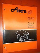1987 ARIENS SERIES 911 MODEL SB 140 SACHS ENGINE FACTORY PARTS & REPAIR MANUAL