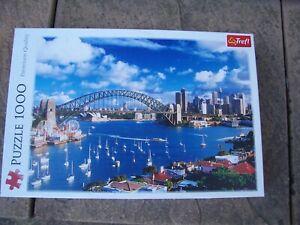 From Trefl Port Jackson Sydney 1000 Piece Jigsaw Puzzle