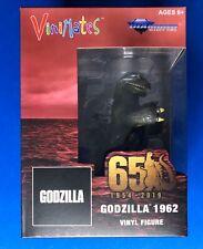 "2020 DIAMOND SELECT TOYS GODZILLA 1962 MOVIE VINIMATE 4"" VINYL MONSTERS IN HAND"