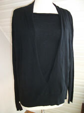 Orig. APRIORI - mod. extravarganter Pullover m.Wolle dunkelbl. Gr. 44 NEU