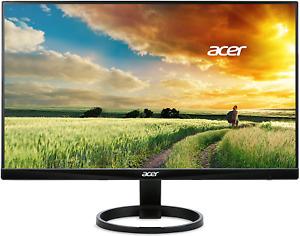 Acer R240Hy Bidx 23.8-Inch Ips Hdmi Dvi Vga (1920 X 1080) Widescreen Monitor, Bl