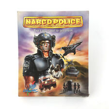 NARCO POLICE. DINAMIC SOFTWARE IRON BYTE SNATCHO MSDOS FLOPPY IBM PC DISKETTE 5¼