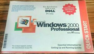 Dell Microsoft Windows 2000 Professional Product Recovery CD W2K PC Laptop