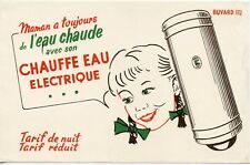 BUVARD / CHAUFFE EAU ELECTRIQUE / APEL