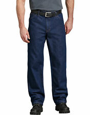 Dickies mens sIze 36x34 work denim blue jeans regular fit 5 pocket NEW A65