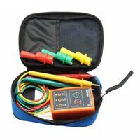 Nuevo Medidor Detector Indicador Probador De Rotación De Secuencia De 3 R2B8