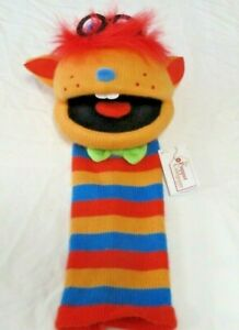 The Puppet Company Ltd Humphrey the knitted sockette puppet New with tags toy