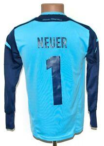 GERMANY 2012/2013 GOALKEEPER FOOTBALL SHIRT JERSEY ADIDAS SIZE L BOYS #1 NEUER
