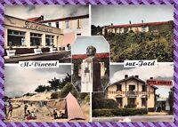 Carte postale - Saint-Vincent-sur-Jard - Restaurant