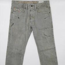 Diesel Braddom Wash 0887D Regular Slim Carrot W28 L34 grau Herren Denim Jeans