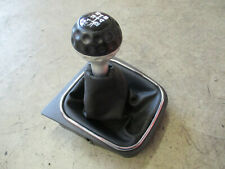 6-Gang RETRO Schaltknauf VW Golf 5 6 Eos Knauf Schaltsack 1K0064285G schwarz