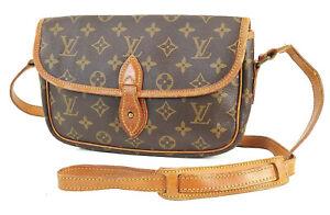 Authentic LOUIS VUITTON Sac Gibeciere PM Monogram Shoulder Messenger Bag #40995