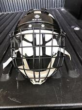 MYLEC Street & Roller Hockey Goalie Mask Helmet Black Face Mask Cage