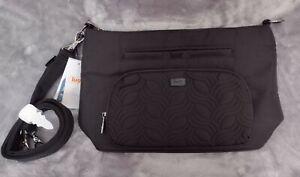 Lug Samba XL Convertible Crossbody Bag - Brushed Black - NWT