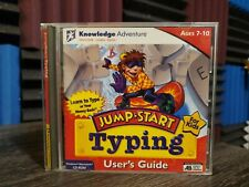 Jump Start Typing Ages 7-10 PC computer game educational Case booklet and disc