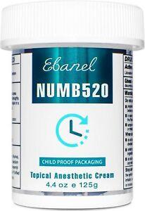 Ebanel Numb520 maximum strength numbing cream 1.35oz