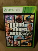 Grand Theft Auto V 5 (Microsoft Xbox 360) - Tested, Works, Cleaned, NO MANUAL