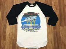 Vtg 1982 Journey Escape ESC4P3 The Spectrum Raglan Concert Rock T-Shirt S USA