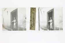 Bougie Béjaïa Algérie Plaque de verre stéréo positive ca 1910