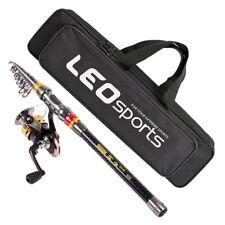 Leo 2.1M Fishing Rod Reel Combo Fishing Rod Reel Kit With Carbon Fiber Fis N4A6
