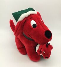 """Vintage Dakin 10"""" Retired Clifford The Big Red Dog Christmas Stocking Puppy 1992"""