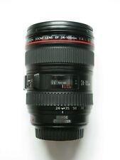 24-105mm F/4 Canon EF L LENTE USM IS + TAPPI-S.N. 9748461