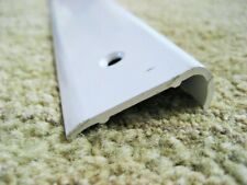"96"" White Aluminum NON Insert Roof Edge Corner Molding RV Trailer 1 1/2"" x 1/2"""