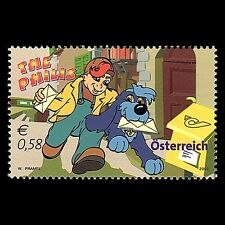 "Austria 2002 - Cartoons ""The Philis"" Children's Art Dog - Sc 1886 MNH"