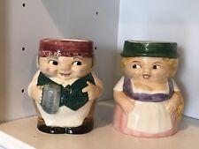 Vintage Pair Goebel Beer Mugs (Steins). Germain Couple, Octoberfest!  Fun!