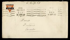 Canada FreeFrank Field PO Cover, Anti-Aircraft Rgt,7th Inf, from FPO #385- ph124