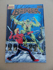 The Badger 8 . First 1985 . FN / VF