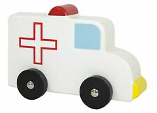 JaBadaBado Auto Krankenwagen Holzauto Spielzeug Kleinkinder