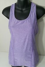 Reebok Tank Top Racerback Women's Size S Small Running Athletic Purple Shirt