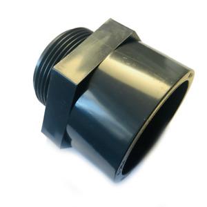 """PVC-U Gewindemuffe mit Außengewinde Übergangsmuffe mit 110mm Klebemuffe auf 4"""" A"""