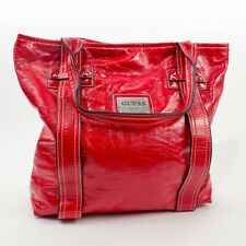 95f661b504bc GUESS FIERY RED HANDBAG Excellent Condition