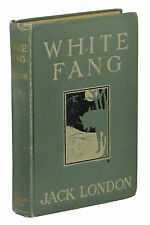 White Fang ~ by JACK LONDON ~ First Edition ~ 1st Printing ~ 1906