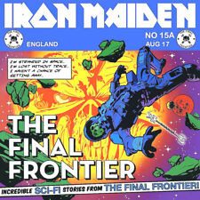 Iron Maiden-The Final Frontier EP Vinyl LP Heavy Metal Sticker, Magnet