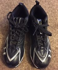 Under Armour Hammer Mens/Youth US Size 10 -Athletic Cleats -Black