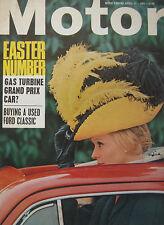 Motor magazine 17/4/1965 featuring DAF Daffodil road test, Lotus 38
