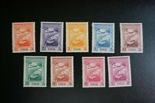 (T2) PORTUGAL Timor 1938, colonial Empire airmail set**/MNH