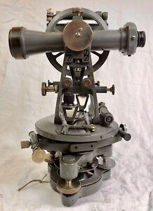 Vintage Theodolite, Cooke Troughton & Simms Ltd, York, England, Alidade level